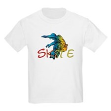 SkateBoard Kids T-Shirt