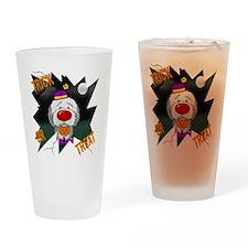 SheepdogHalloweenShirt2 Drinking Glass