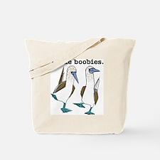 2-boobies.gif Tote Bag