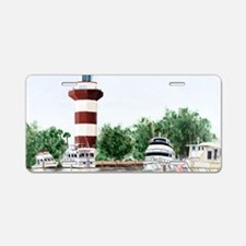 harbor town light long Aluminum License Plate