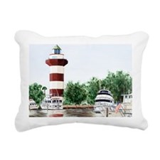 harbor town light long Rectangular Canvas Pillow