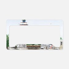 harbor town light long License Plate Holder
