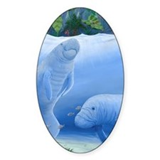 MANATEES Decal
