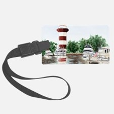 harbor town light Luggage Tag