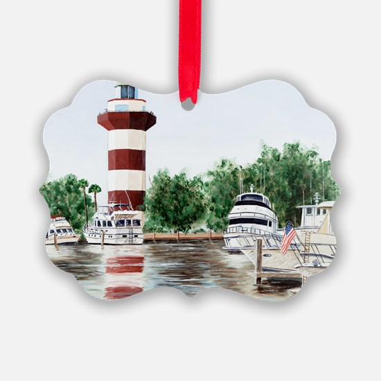 harbor town light Ornament