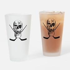 hockeyskull2 Drinking Glass