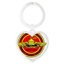 FORCERECON Heart Keychain