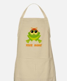 Personalized Frog Lover Apron
