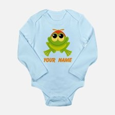 Personalized Frog Lover Body Suit