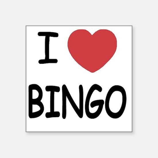 """BINGO Square Sticker 3"""" x 3"""""""