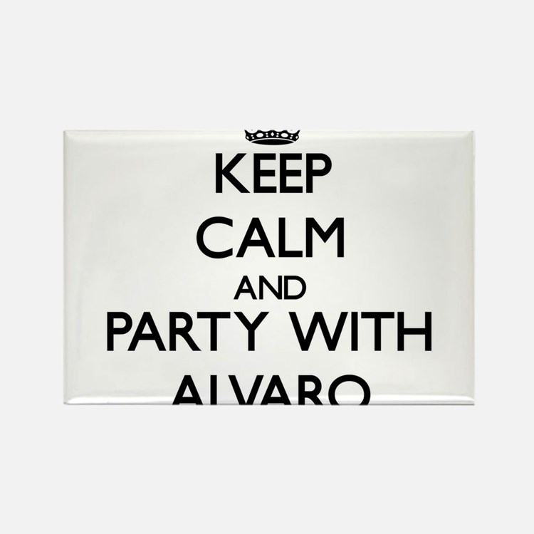 Keep Calm and Party with Alvaro Magnets