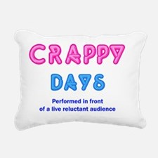crappydaysuse Rectangular Canvas Pillow