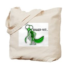 Bugged Out Cartoon Tote Bag