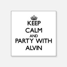 Keep Calm and Party with Alvin Sticker