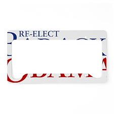 reelect-serifs License Plate Holder