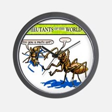 Mutant 34 Mute Ant Wall Clock
