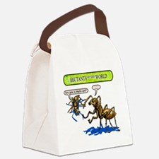 Mutant 34 Mute Ant Canvas Lunch Bag