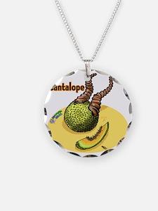Mutant 35 Cantalope Necklace