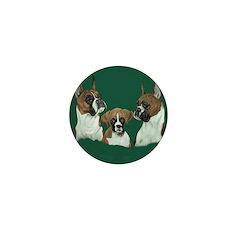 Boxer Triad Mini Button