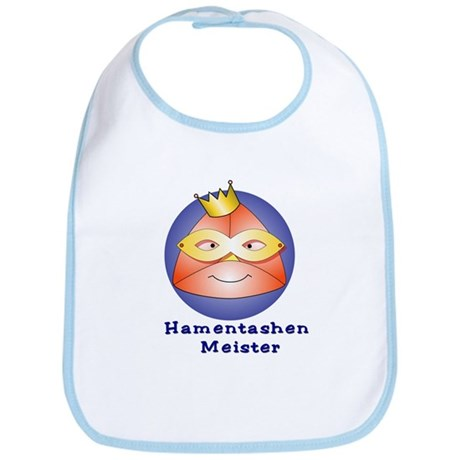 Hamentashen Meister Master Bib