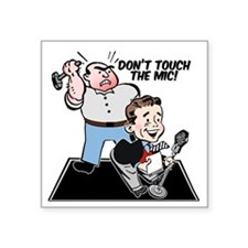 "dont-touch Square Sticker 3"" x 3"""