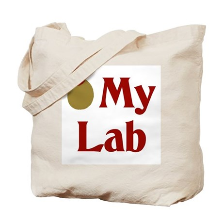 Olive My Lab(I Love My Lab) Tote Bag