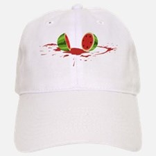 watermelon_splatV2 Baseball Baseball Cap
