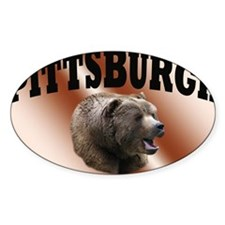 rocky pgh Decal