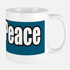 Teach-Peace-anti-war-bumper-sticker Mug