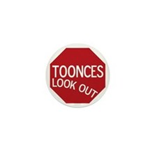 tooncesstopsign Mini Button