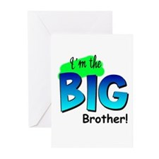 I'm Big Brother Greeting Cards (Pk of 10)