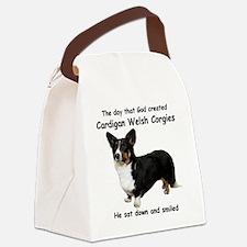 God-Cardigan Dark Shirt Canvas Lunch Bag