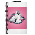 Shih Tzu and Flowers Journal