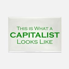 Capitalist Rectangle Magnet