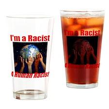 racist Drinking Glass
