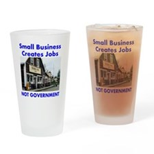 small-biz-not-government Drinking Glass