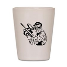 Paintball1 Shot Glass