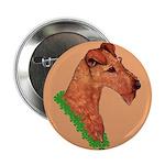 Irish Terrier Button
