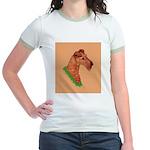 Irish Terrier Jr. Ringer T-Shirt