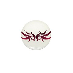 Midnight Wings Mini Button (10 pack)