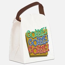 FIN-gobble-GRTING Canvas Lunch Bag