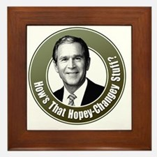 bush-how Framed Tile