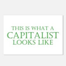 Capitalist Postcards (Package of 8)