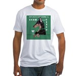 Doberman Bitch Fitted T-Shirt