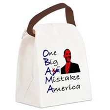 One Big Mistake Canvas Lunch Bag