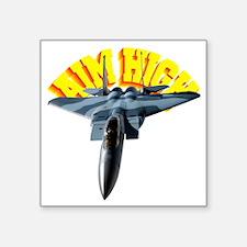 "CP-T DARK F15 AIM HIGH Square Sticker 3"" x 3"""