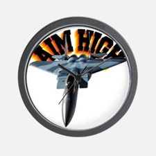 CP-T LIGHT F15 AIM HIGH Wall Clock