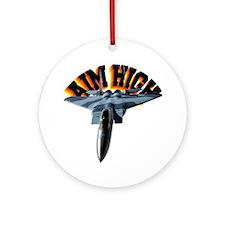 CP-T LIGHT F15 AIM HIGH Round Ornament