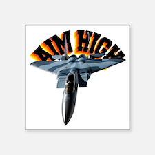 "CP-T LIGHT F15 AIM HIGH Square Sticker 3"" x 3"""