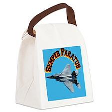 CP-JOURNAL f15 Semper Paratus Canvas Lunch Bag